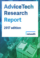 Netwealth 2017 AdviceTech Report